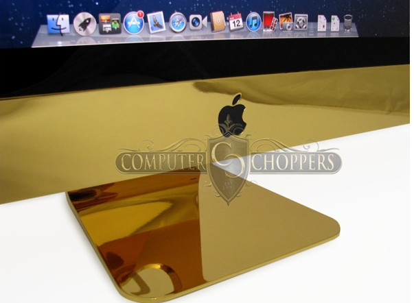 Ghastly, gold-plated iMac can be yours for $10k