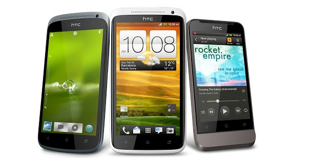 HTC's One X, One S and One V handsets invading Europe next week, prices announced