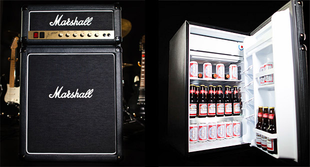 Marshall take the fridge to eleven with their own ice cool beer fridge