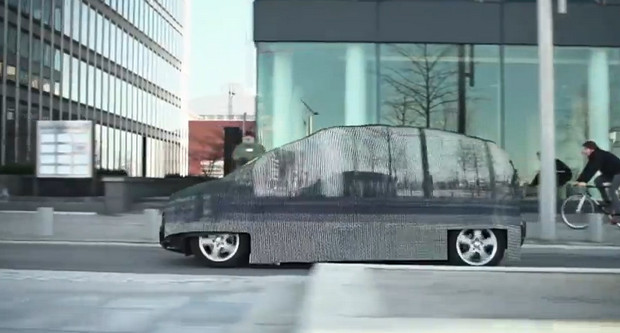 Mercedes Benz creates the invisible car to befuddle passers by