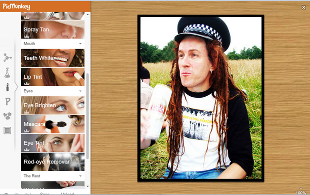 Say hello to our new fave web photo editor, PicMonkey