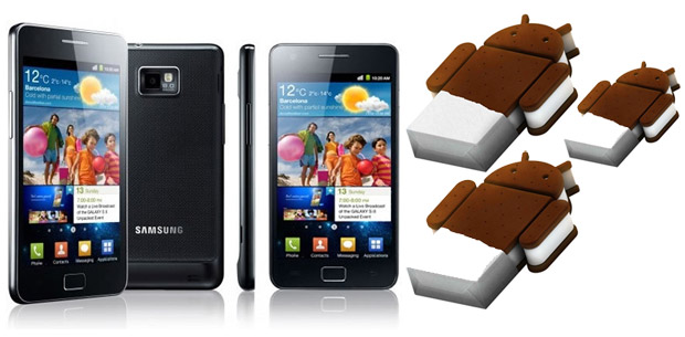 Galaxy S II Android OS 4.0 (Ice Cream Sandwich) update starts to roll out worldwide