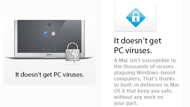 Apple: stop misleading users and be honest about OSX and viruses