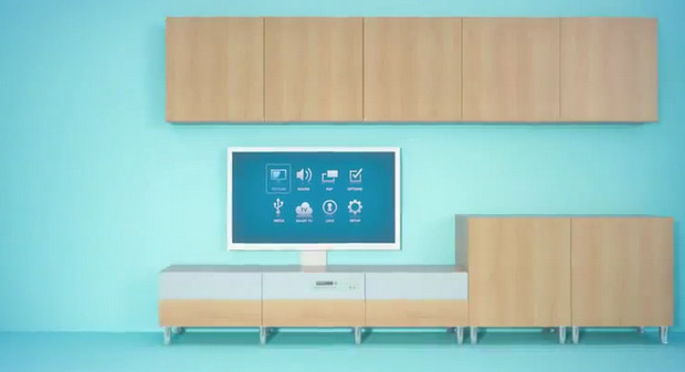 Sweet Scandinavian style with IKEA's clutter-free HDTV home entertainment system