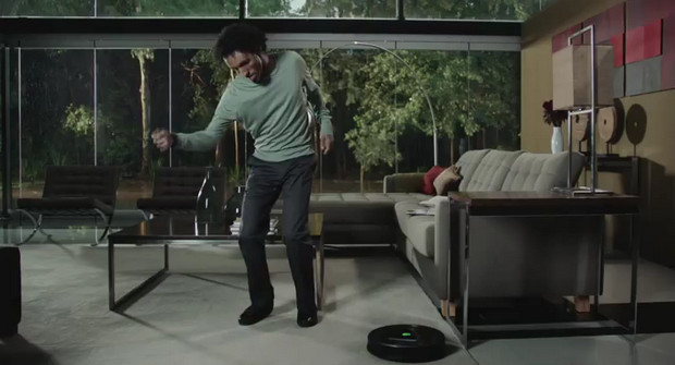 Now that's what we call robot dancing: iRobot viral video impresses