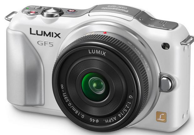Panasonic DMC-GF5 12MP Micro Four Thirds camera announced