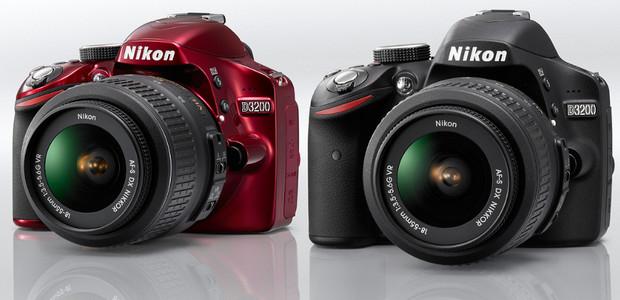 Nikon D3200 entry level DSLR packs 24MP sensor, full HD (1080p) movies and optional wi-fi