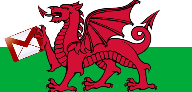 Iechyd da! GMail is now available in Welsh (and Latin American Spanish)