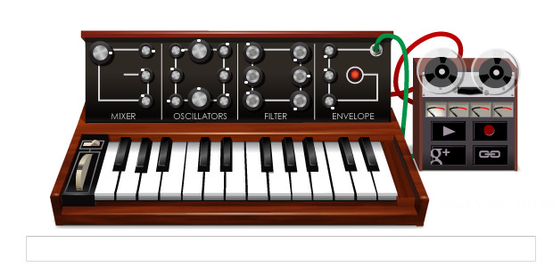 Google's greatest ever doodle: the Moog synthesiser