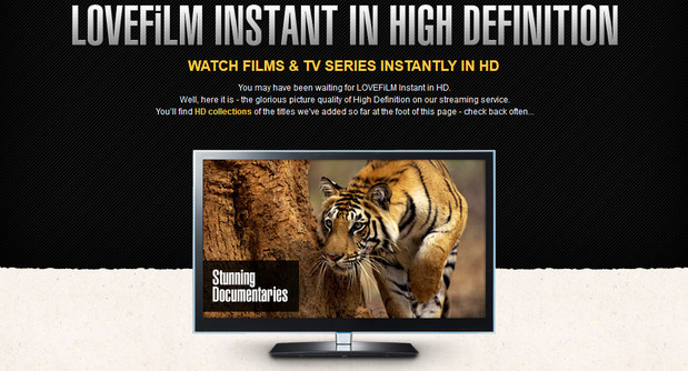 Lovefilm introduces HD streaming in the UK