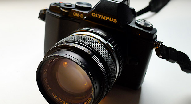 Fotodiox m43 adapter and the Olympus OM-D E-M5 camera