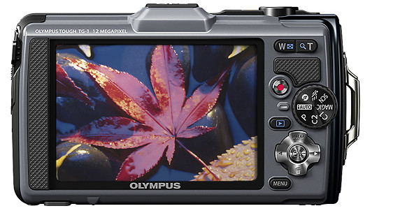 Cameras Olympus TG-1 iHS Tough for your outdoor camera snapping needs - full specs