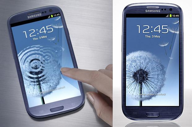 Samsung Galaxy SIII announced with 4.8 inch HD Super AMOLED display