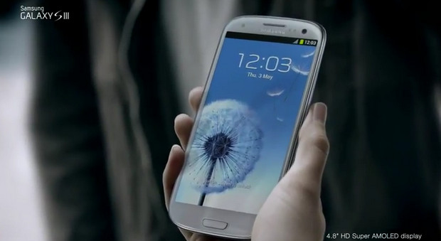 Samsung releases the first Galaxy S III TV Commercial