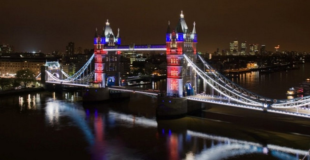 Tower Bridge gets a new cloak of LEDs for the Queen's Jubilee