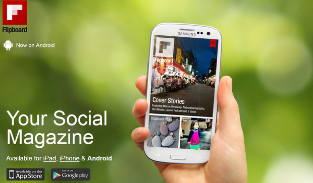 Flipboard releases flipping great Android App
