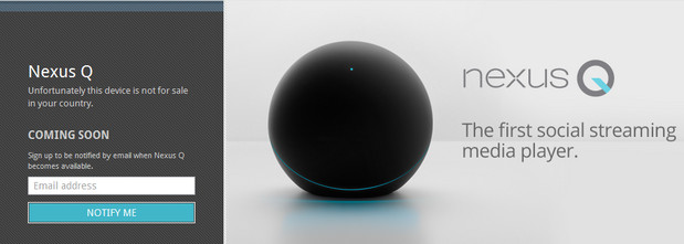 Google announces Nexus Q - 'the first social streaming media player'