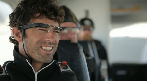 Google Project Glass computer specs demoed in spectacular parachute jump