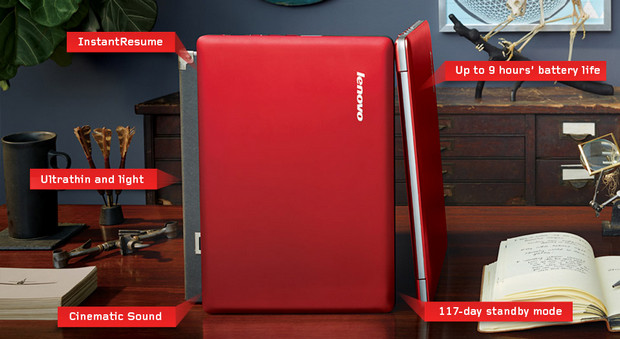 Lenovo introduce competitively-priced U310 and U410 ultrabooksm, available in UK and US