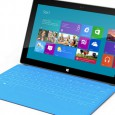 Microsoft has demonstrated its new Surface touchscreen tablets which are set to compete with Apple's hugely successful iPad devices.