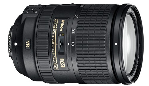 Nikon AF-S DX Nikkor 18-300mm zoom lens packs a hefty punch