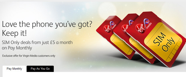 Virgin Media to launch unlimited mobile data tariffs, starting at £21 a month