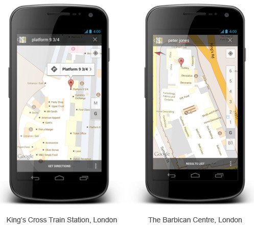 Google launches indoor maps for Android devices in the UK, locations listed
