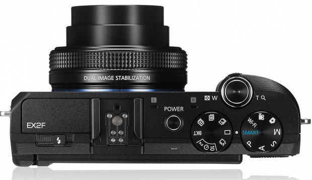 Samsung EX2F enthusiast compact offers super fast f1/4 lens and wi-fi