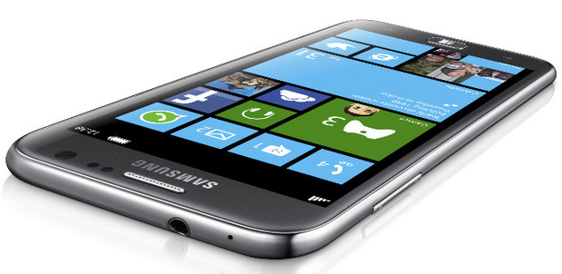 Samsung ATIV S Windows Phone 8 smartphone packs 4.8 inch screen