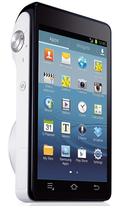 Android powered Samsung Galaxy Camera offers 16MP, huge zoom, remote viewing and voice control
