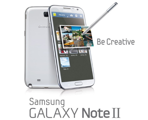 Samsung Galaxy Note II packs an even bigger screen, laughs in the face of doubters