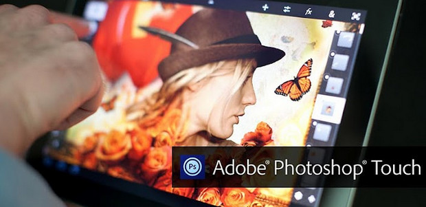 Adobe Photoshop Touch v1.3 released for Android and iOS tablets