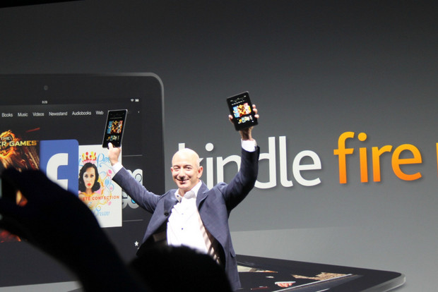 Amazon announces a bigger screen Kindle Fire HD to take on the Nexus 7