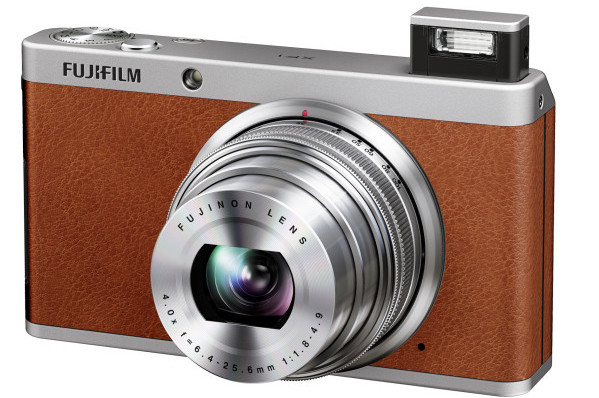 Fujifilm XF1 compact camera ratchets up the retro style