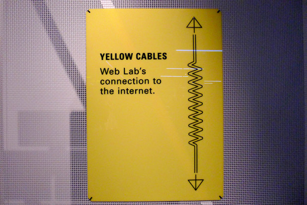 A visit to the Google Web Lab at the Science Museum, London Sept 2012