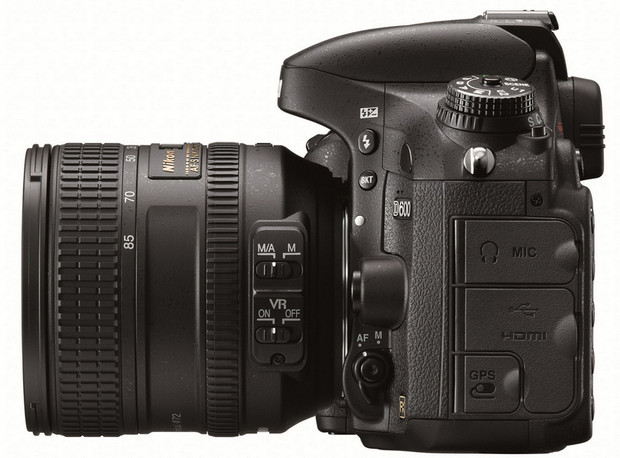 nikon d600 24mp becomes nikons smallest lightest cheapest full frame dslr ever