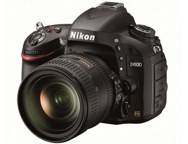 Nikon D600 24MP becomes Nikon's smallest, lightest, cheapest full-frame DSLR ever