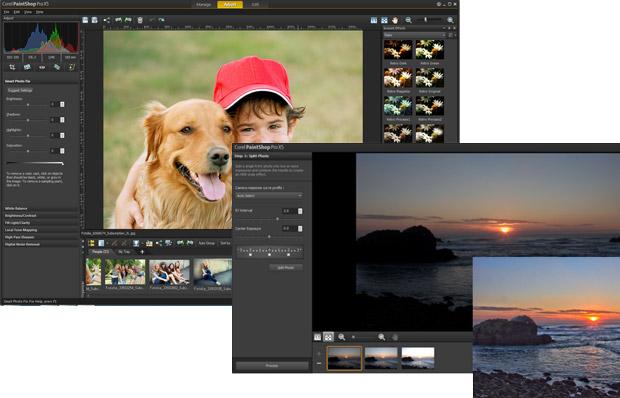 Corel releases PaintShop Pro X5, adds face recognition, interactive map widget