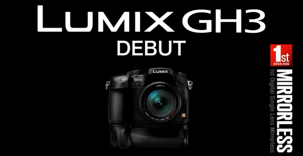 Panasonic Lumix GH3 camera gets shown off in the hands of photo pros