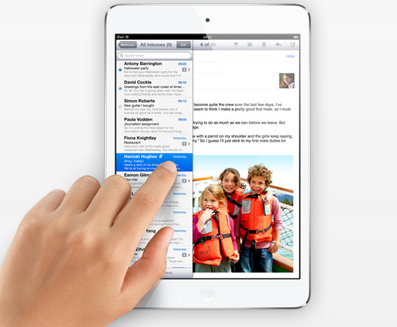 Apple announces the iPad Mini, prices start at £269 and $329