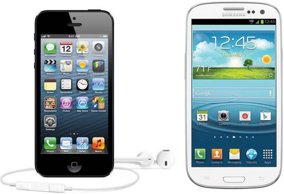 Samsung smartphones outsell Apple by two to one