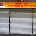 While walking around the mainly abandoned Heygate housing estate in Elephant & Castle, south London, we were surprised to come across a closed shopfront with a sign above declaring it to be the Foursquare […]