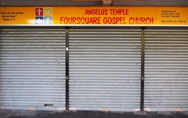 Foursquare lets you check in with God in south London
