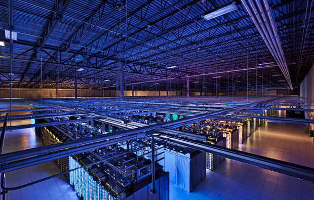 Take a stroll around Google's hi-tech data centre