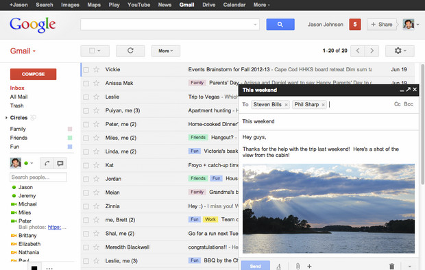 Google announces nifty new compose window upgrade to GMail