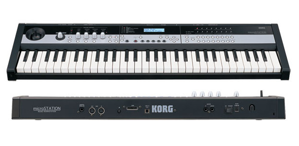 Korg announces affordable MicroStation keyboard for synthesizing prog-rock ivory-troublers