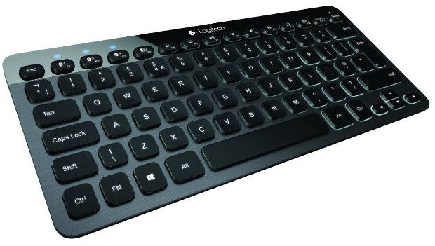Logitech K810 Bluetooth illuminated keyboard for smartphones, tablets and PCs