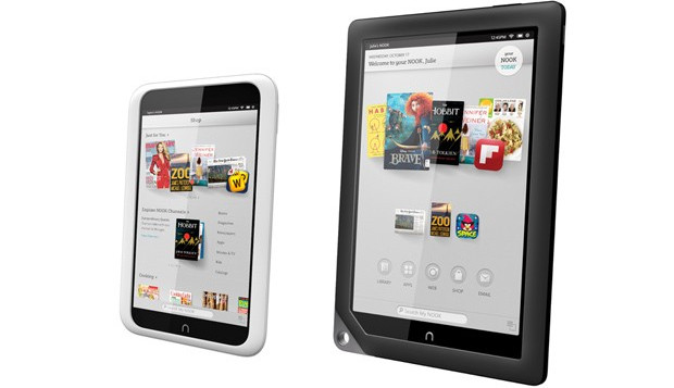 Nook HD and Nook HD+ take on the Kindle Fire in the UK
