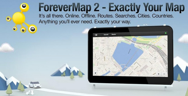 Skobbler releases ForeverMap 2 for Android and gives you an entire country for offline viewing
