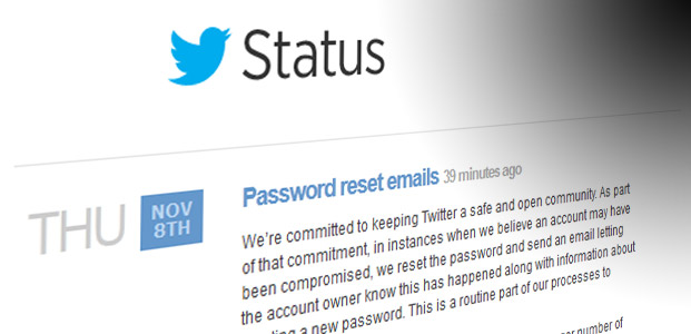 Has Twitter asked you to reset your password because of a compromised account?